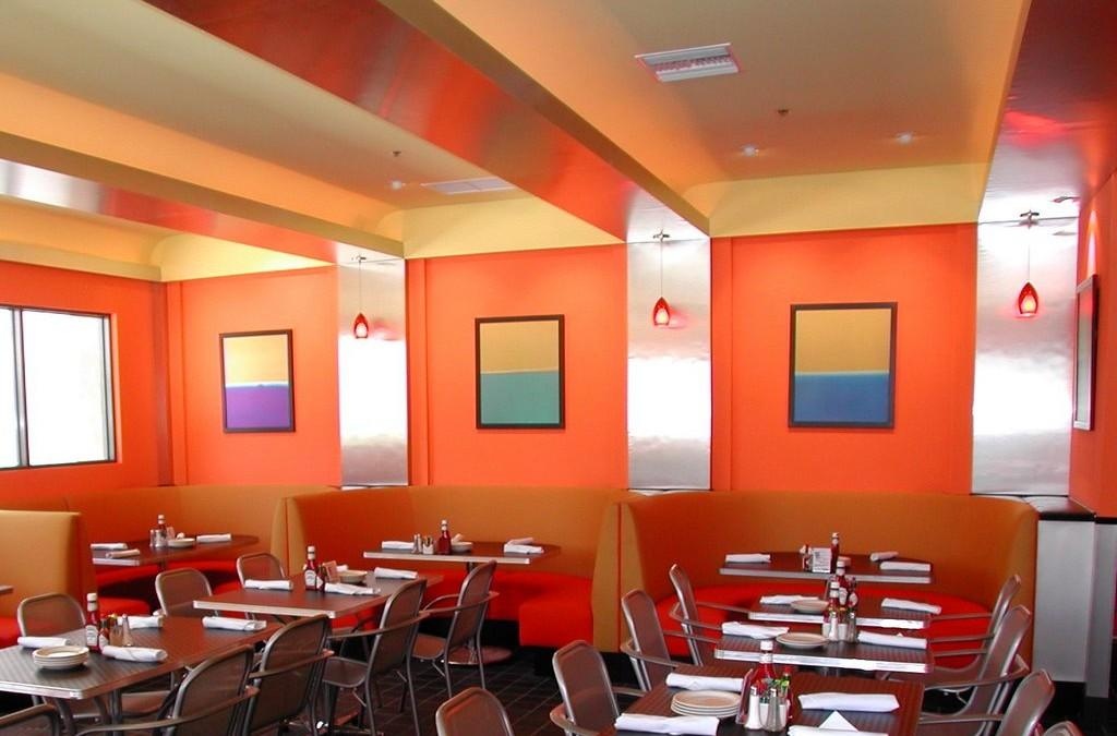 An American-style restaurant